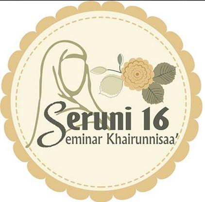 Logo Seminar Khairunnisaa 16