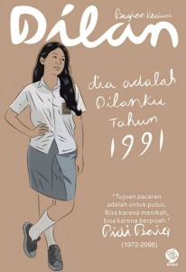 Cover Buku Dilan Bagian Kedua: Dia adalah Dilanku Tahun 1991