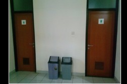 Kondisi WC di FPMIPA B (isolapos.com/ Rani)