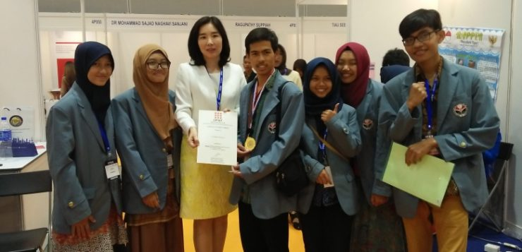 Wakili Indonesia, Mahasiswa UPI Raih Perunggu di Ajang Internasional