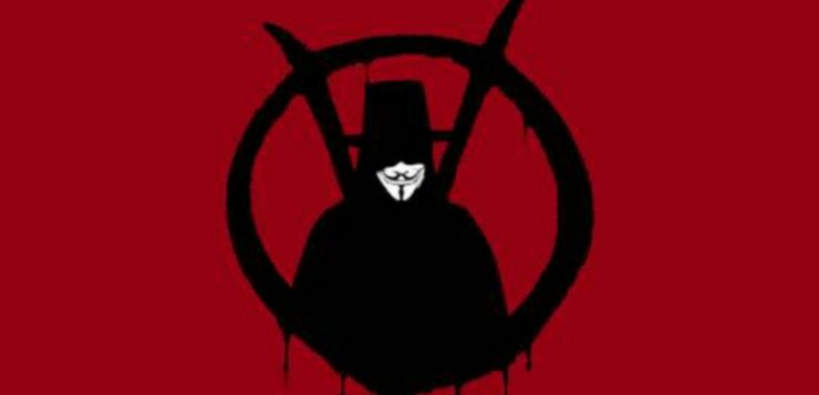 Vandalisme, V for Vendetta, dan Banksy